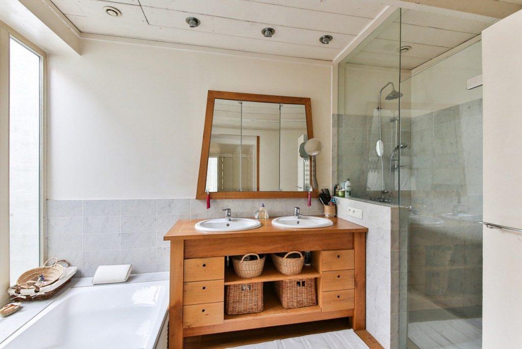 Bathroom design tiles