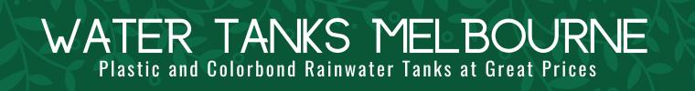 rain water tanks melbourne