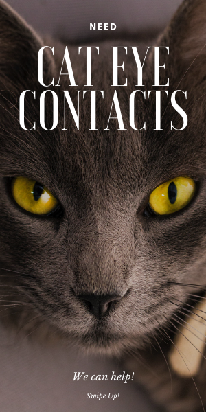 Cat eye contacts